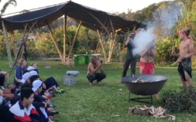 Mullumbimby Community Gardens | Beautiful welcome to country ceremony