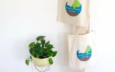 Plastic Free Byron   Borrow Bags hitting tourist facilities soon